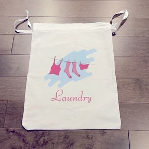 Reusable Washable Laundry Bag With Drawstring